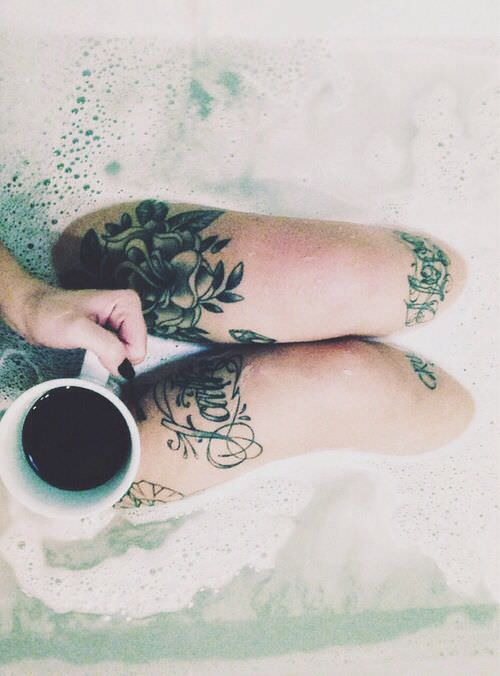 You Can Bathe Safely With Your Beautiful Tattoo All In Good Time