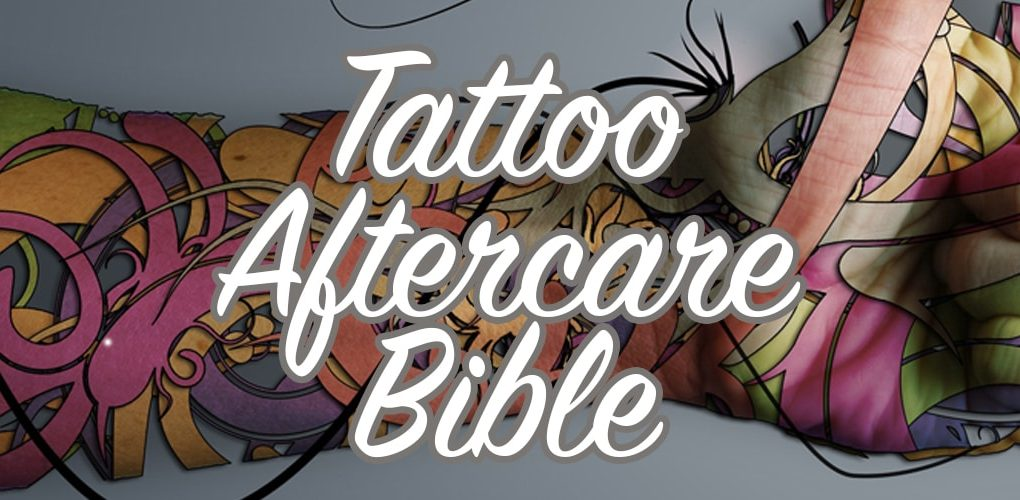 Tattoo Aftercare - How To Care For A New Tattoo