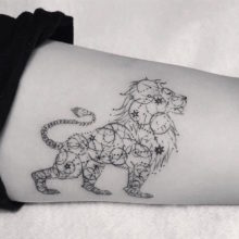 85 Mind-Blowing Lion Tattoos And Their Meaning