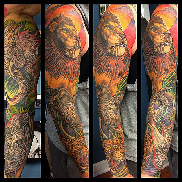 55 Amazing Wild Lion Tattoo Designs And Meaning: 101 Lion & Lioness Tattoo Ideas & Designs