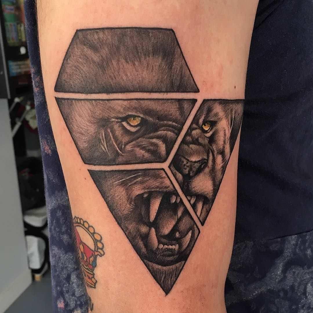 101 lion lioness tattoo ideas designs authoritytattoo buycottarizona Gallery