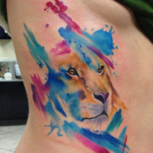 Watercolor Tattoo Designs & How Quickly They Fade