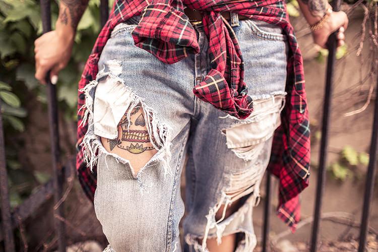 Tattoo Jeans