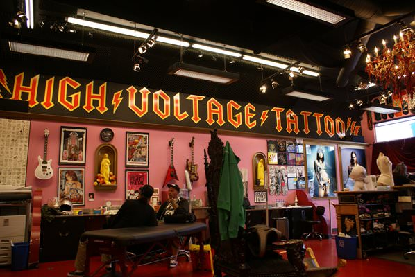 High Voltage Tattoo Studio