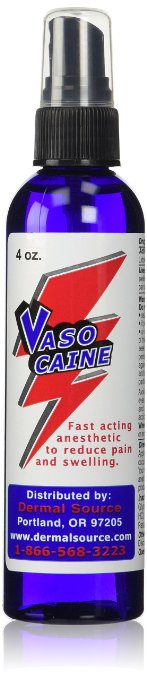 Vasocaine Tattoo Numbing Spray