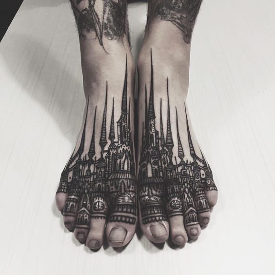 foot tattoo pain how bad do foot tattoos hurt. Black Bedroom Furniture Sets. Home Design Ideas