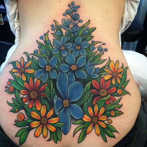 101 of the best flower tattoo design ideas for men women for Tattoo lous piercing prices