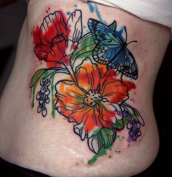 23 Beautiful Flower Tattoo Ideas For Women: 101 Of The Best Flower Tattoo Design Ideas For Men & Women