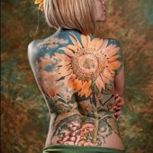 85 Mind-Blowing Flower Tattoos And Their Meaning