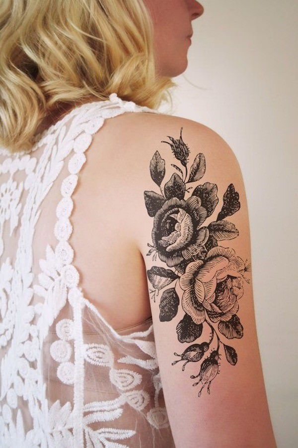 10 Beautiful Tattoo Designs Of Flowers Beauty Logic Blog
