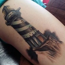 85 Mind-Blowing Lighthouse Tattoos And Their Meaning
