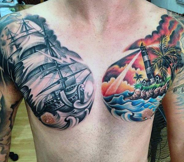 Simple Beach Tattoos