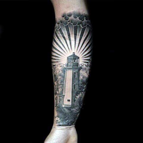 101 Bright U0026 Shining Lighthouse Tattoo Design Ideas For Men U0026 Women