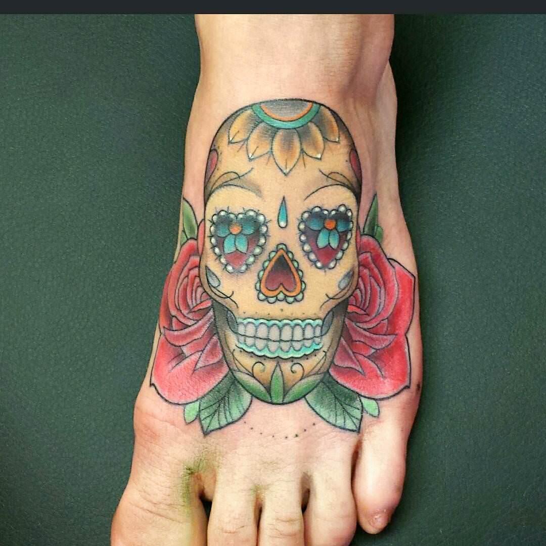 101 Best Sugar Skull Tattoo Design Ideas – Spooky & Sweet ...