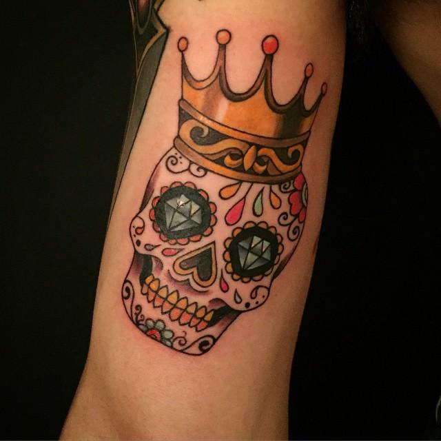 101 Best Sugar Skull Tattoo Design Ideas Spooky Sweet