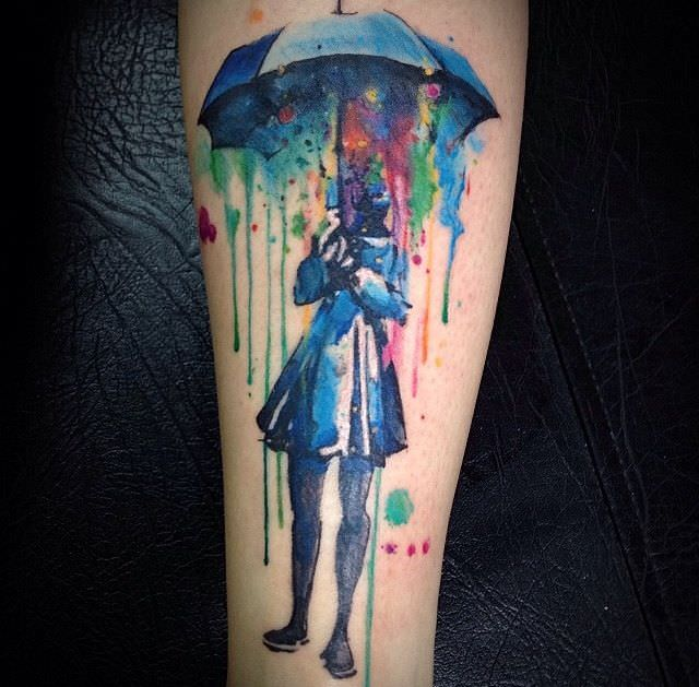 What Are Watercolor Tattoos & How Quickly Do They Fade | AuthorityTattoo