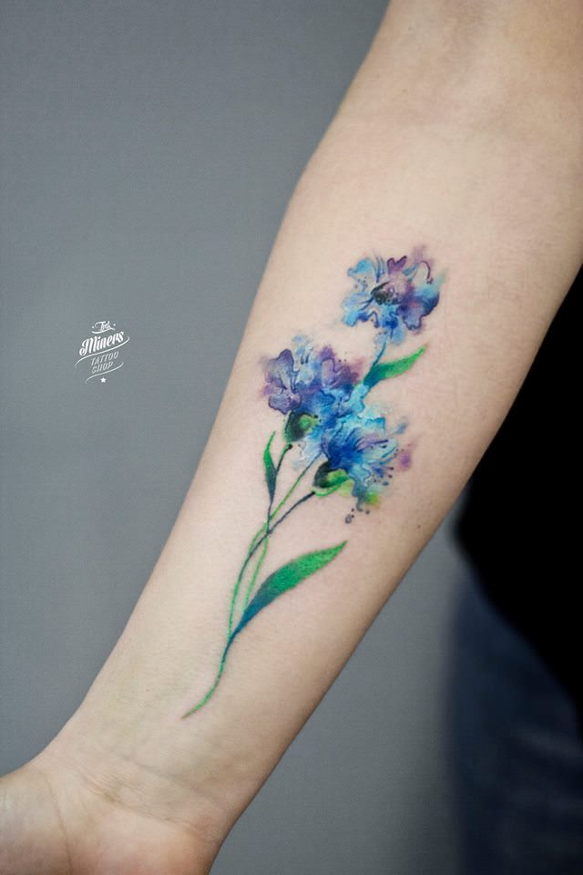 what are watercolor tattoos how quickly do they fade. Black Bedroom Furniture Sets. Home Design Ideas