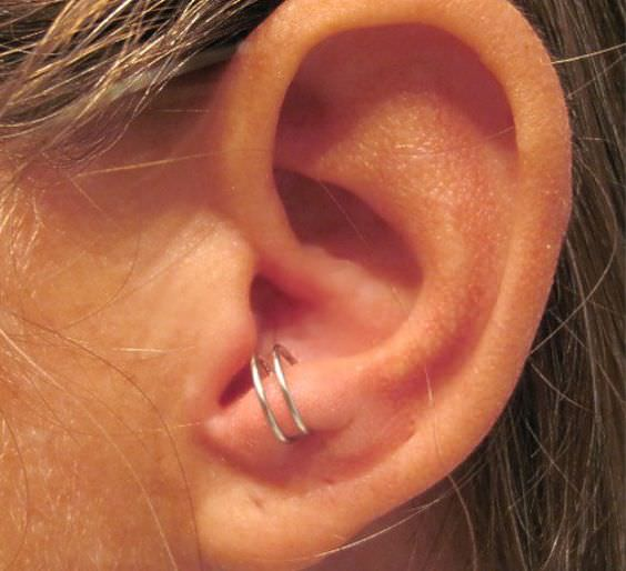 Anti Tragus Piercing