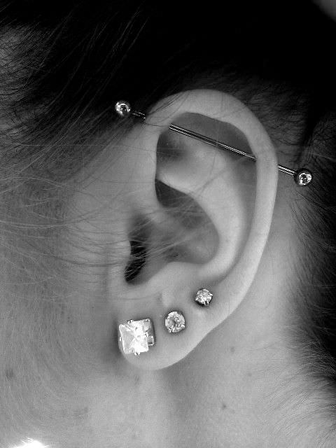 Industrial Piercings Ultimate Guide With Images