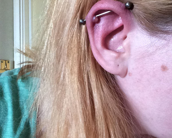 Infected Industrial Piercing