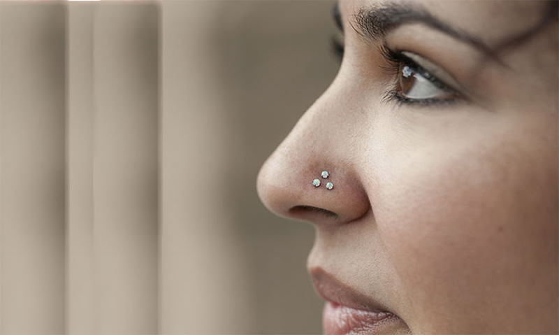Image result for nose piercing