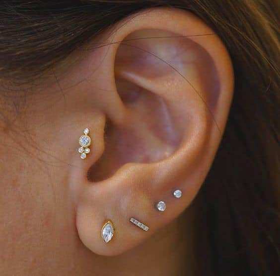 Tragus Piercings: Guide & Images