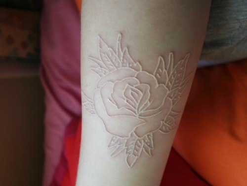 White Ink Tattoos Complete Guide With Images Authoritytattoo