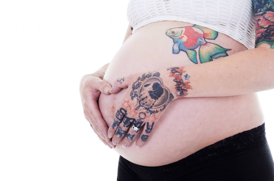 Can you get a tattoo while pregnant for Stretch mark tattoo camouflage