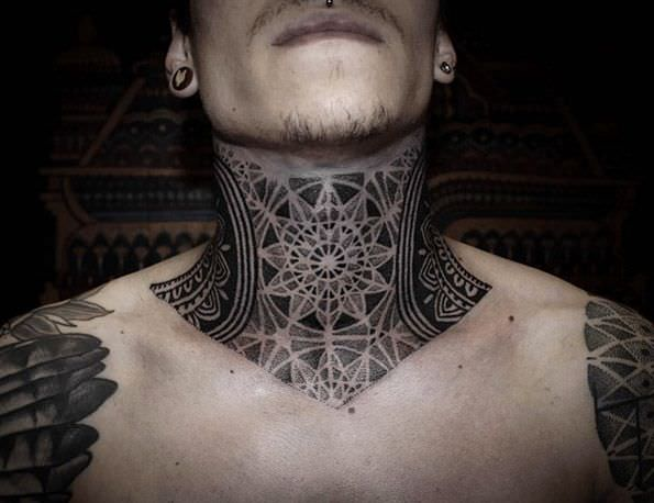 Neck Tattoo Pain