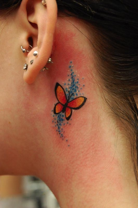 Behind The Ear Tattoo Pain