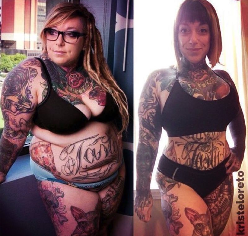 Tattoos After Weight Loss How Much Do They Change