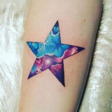 85 Mind-Blowing Star Tattoos And Their Meaning