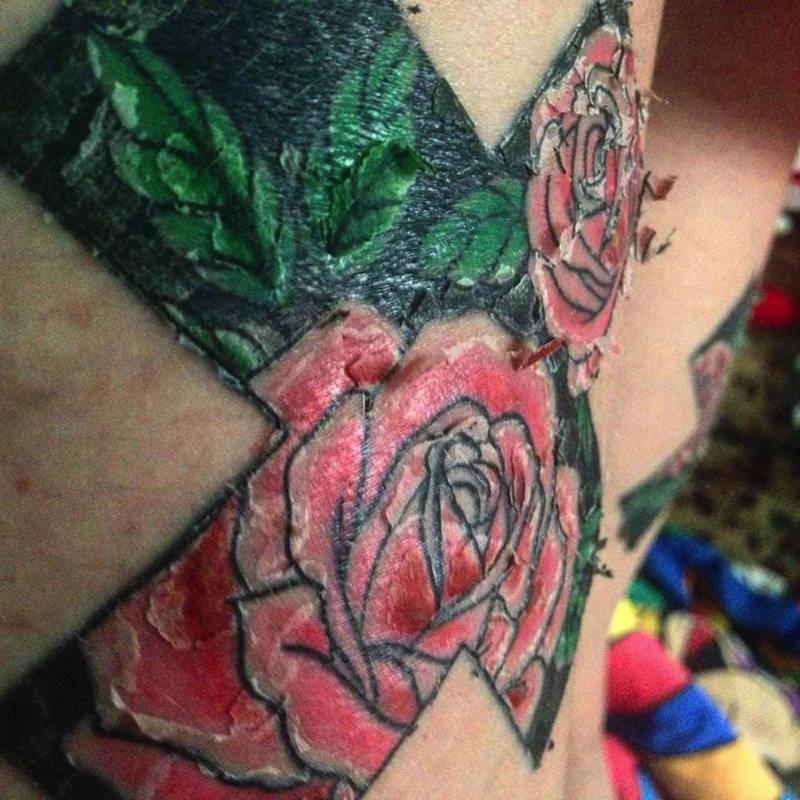 How Long Do Tattoos Peel For?