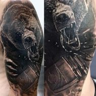 65 Mind-Blowing Bear Tattoos And Their Meaning