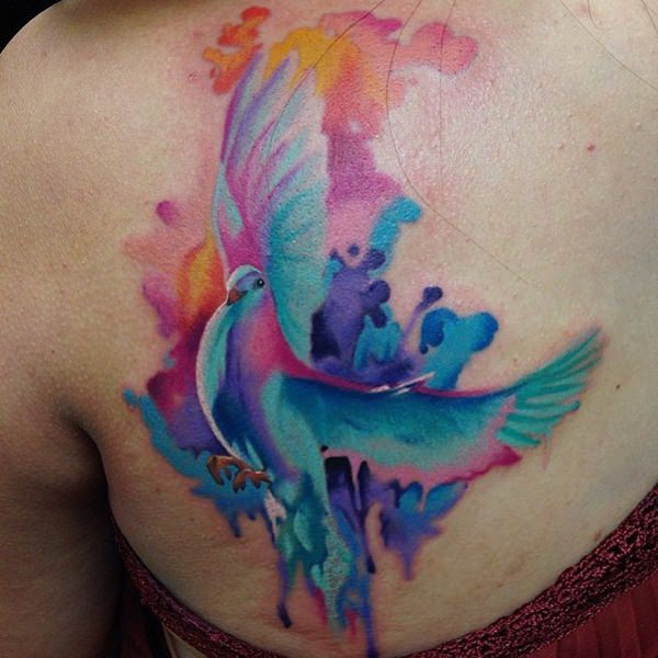 85 Mind-Blowing Dove Tattoos And Their Meaning