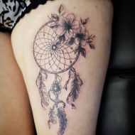 75 Mind-Blowing Dreamcatcher Tattoos And Their Meaning
