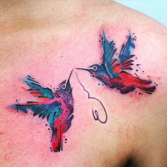 45 Mind-Blowing Hummingbird Tattoos And Their Meaning