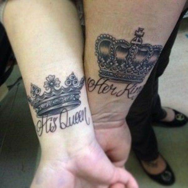 85 Mind Blowing King Queen Tattoos And Their Meaning Authoritytattoo Queen tattoos are very much in a trend which gives a feeling of the queen to an individual. 85 mind blowing king queen tattoos