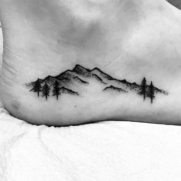 55 Mind-Blowing Mountain Tattoos And Their Meaning