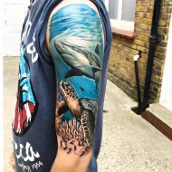 75 Mind-Blowing Ocean Tattoos And Their Meaning