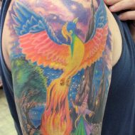 75 Mind-Blowing Phoenix Tattoos And Their Meaning