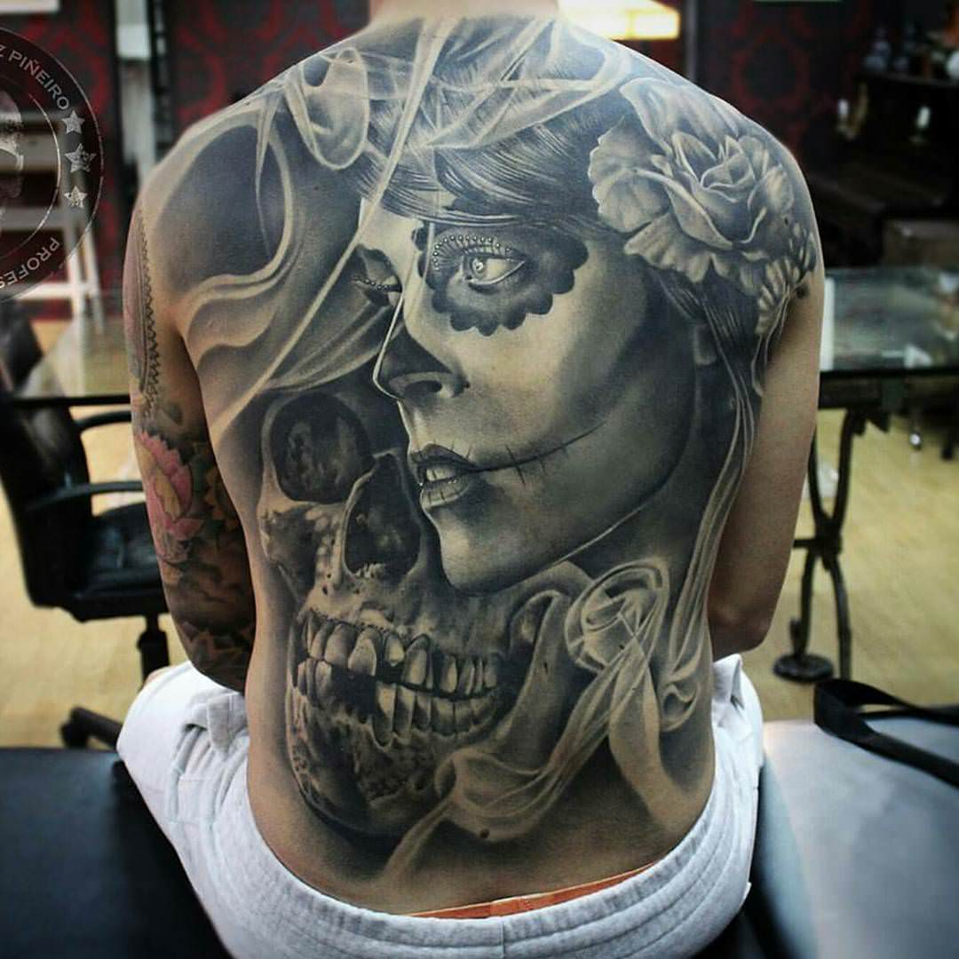 75 Mind-Blowing Skull Tattoos And Their Meaning