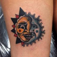 85 Mind-Blowing Sun & Moon Tattoos And Their Meaning