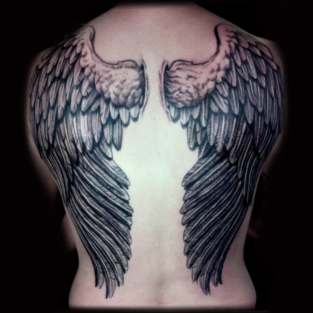 85 Mind-Blowing Wing Tattoos And Their Meaning