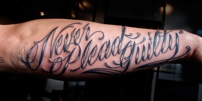 Lettering Tattoos: A Complete Guide With 85 Images