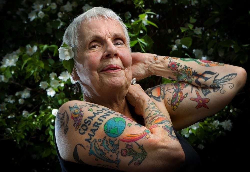 Old People with Tattoos: Inked and Still Awesome
