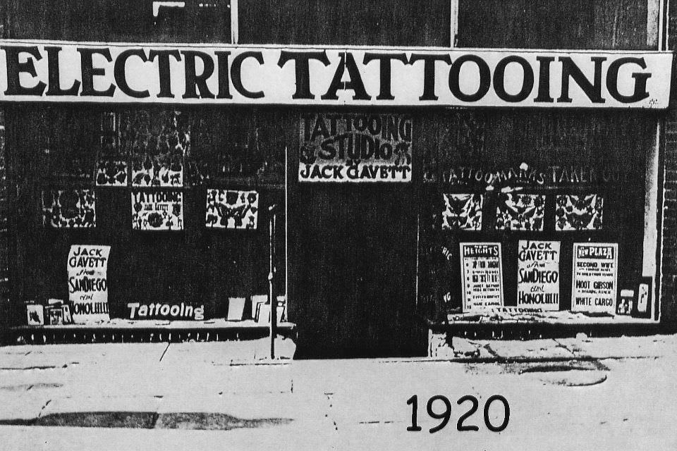 The Evolution of the Tattoo Shop